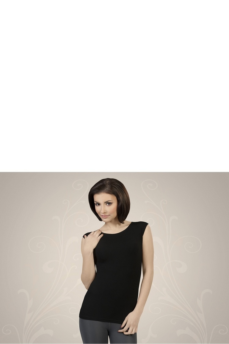 Koszulka Alessia koszulka CZARNY - Gorteks