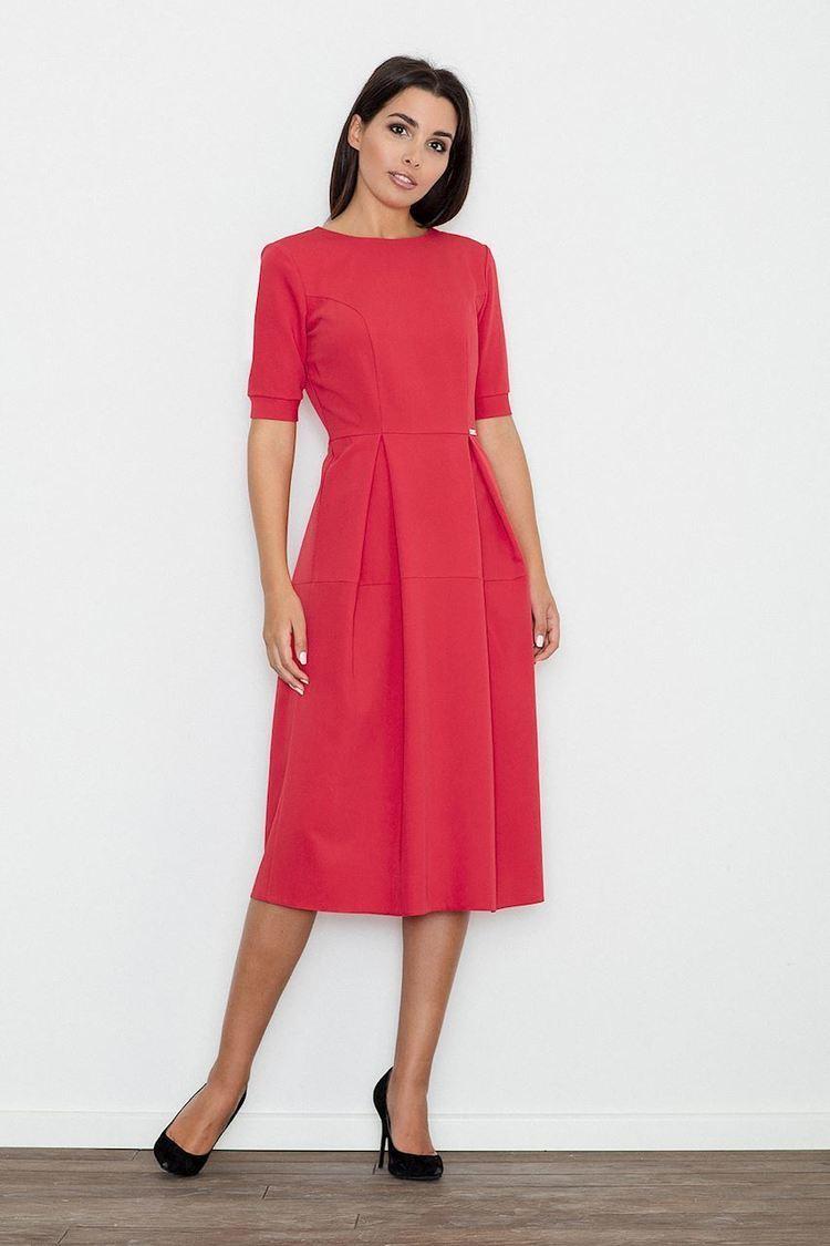Sukienka Model M553 Red - Figl