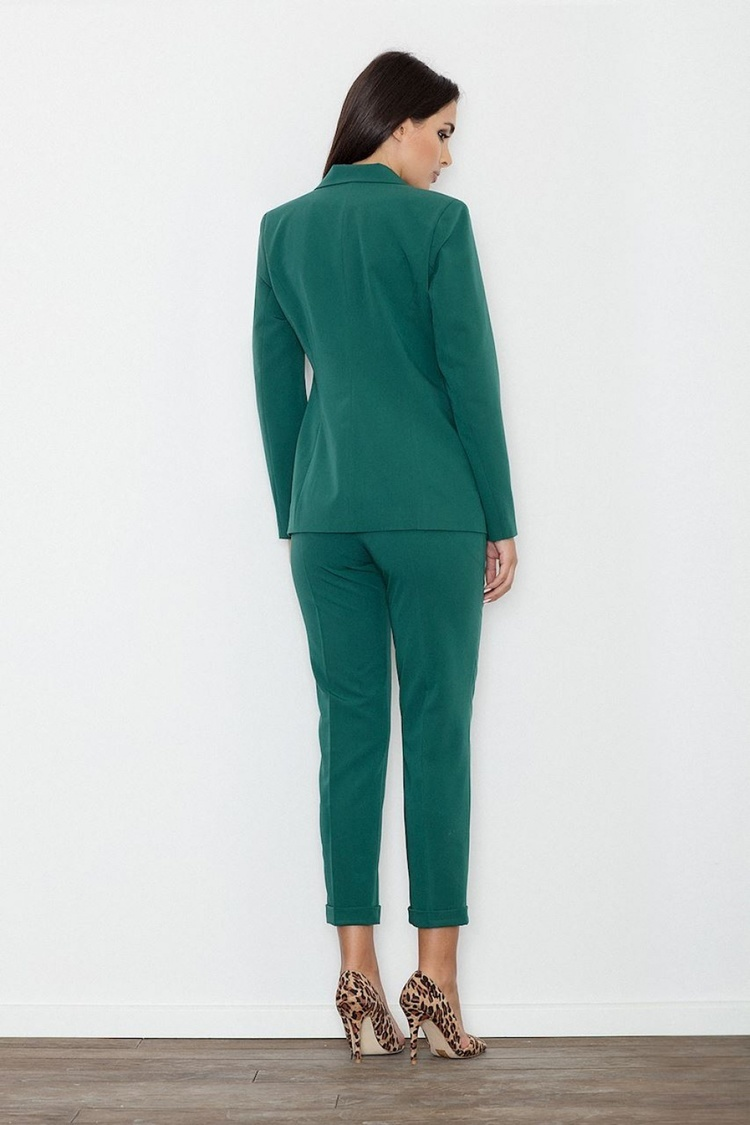 Spodnie Damskie Model M552 Green - Figl