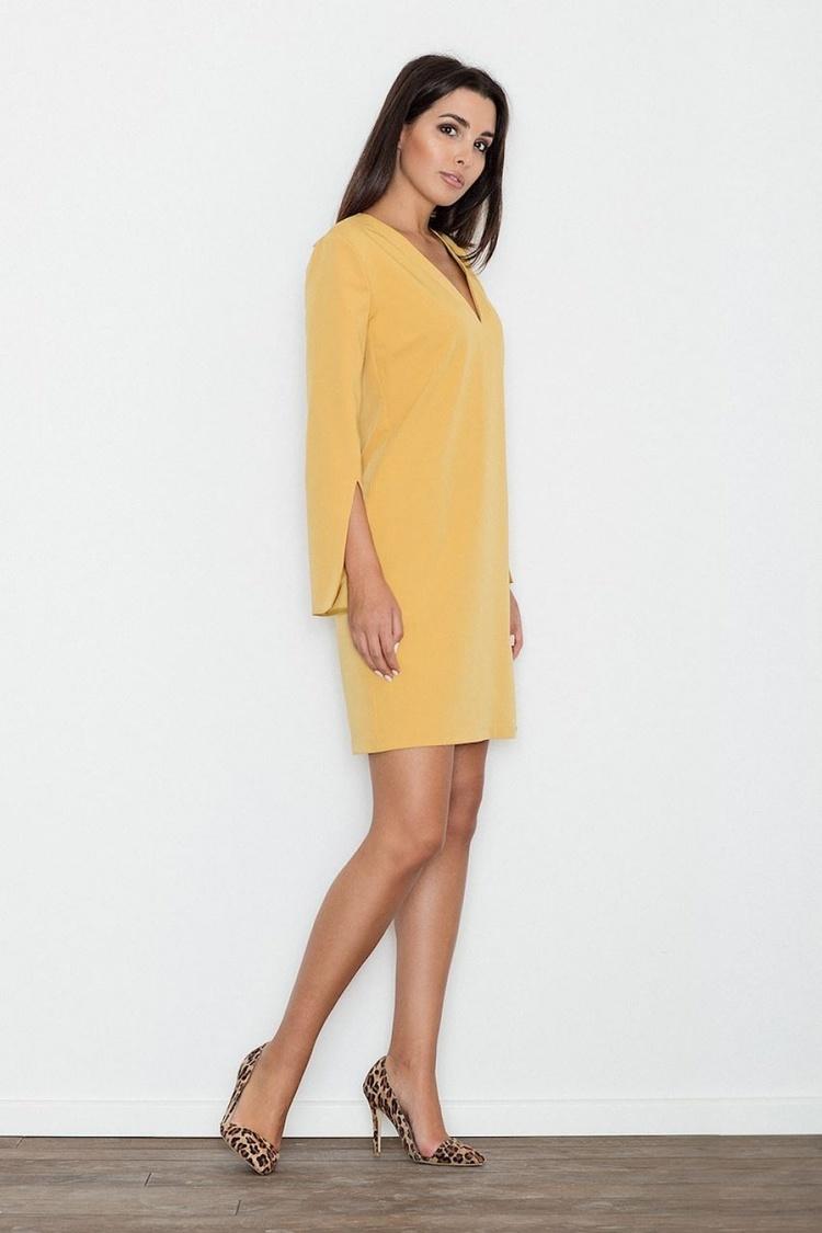 Sukienka Model M550 Yellow - Figl
