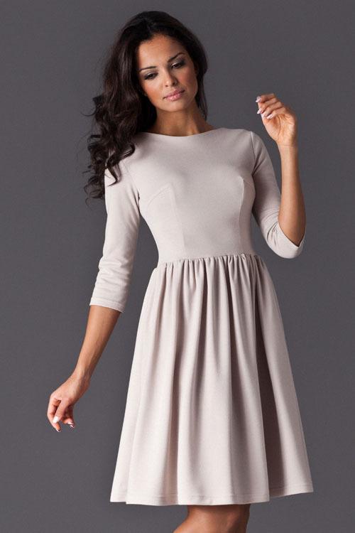 Sukienka Model 117 Beige - Figl