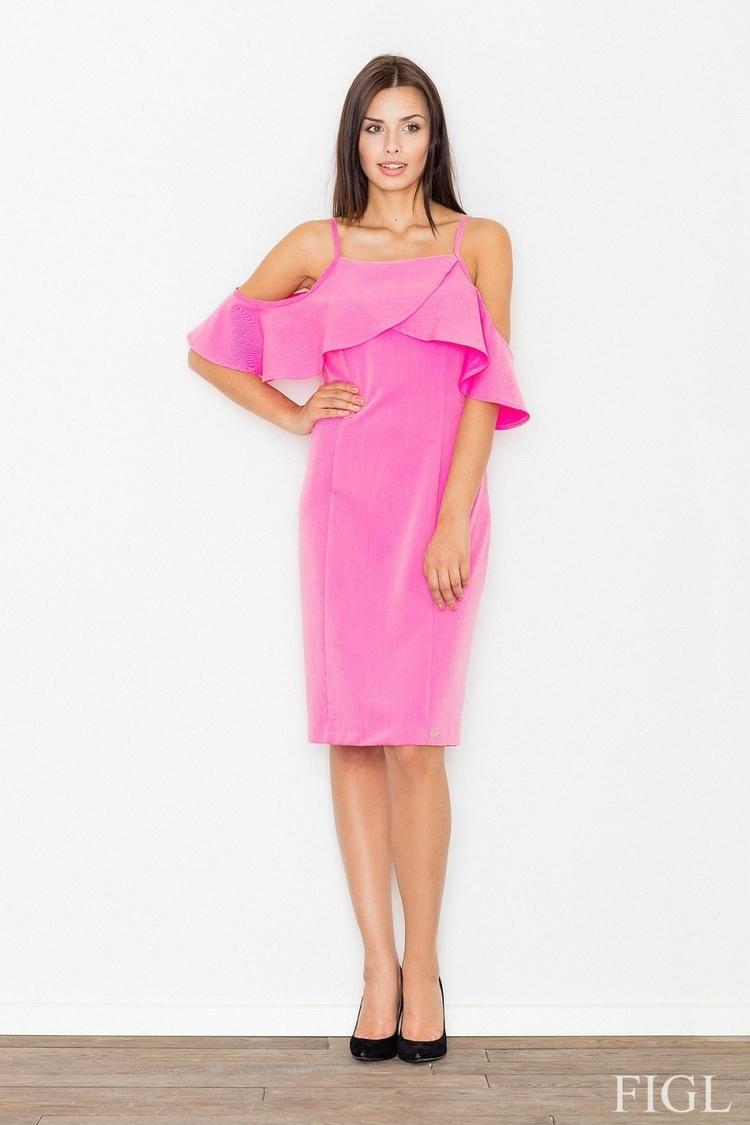 Sukienka Model M478 Dark Pink - Figl