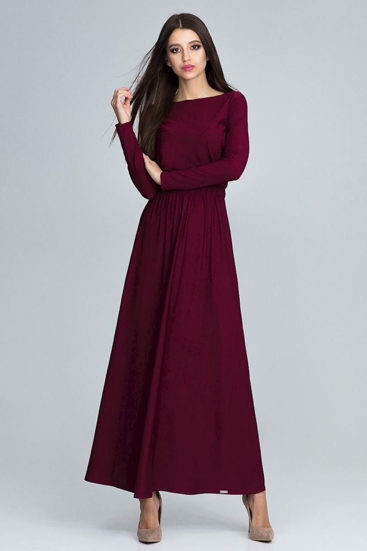 Sukienka Model M604 Bordo - Figl