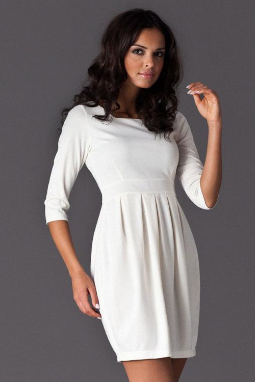 Sukienka Model 122 Ecru - Figl