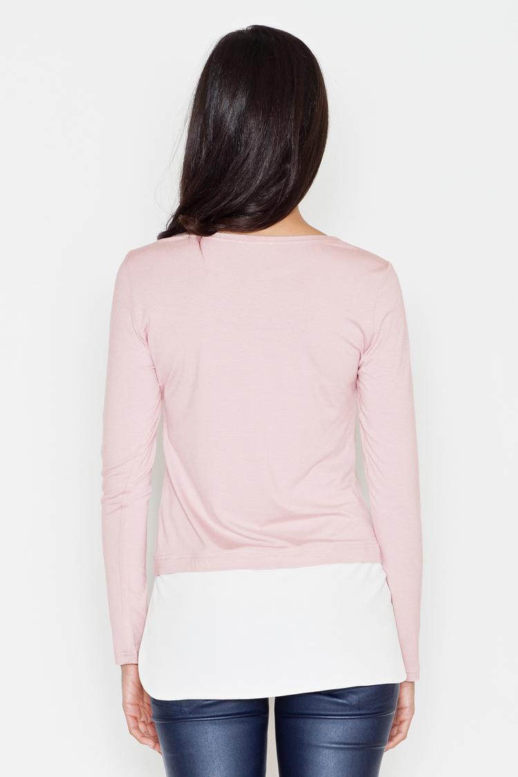 Bluzka Model 374 Pink - Figl