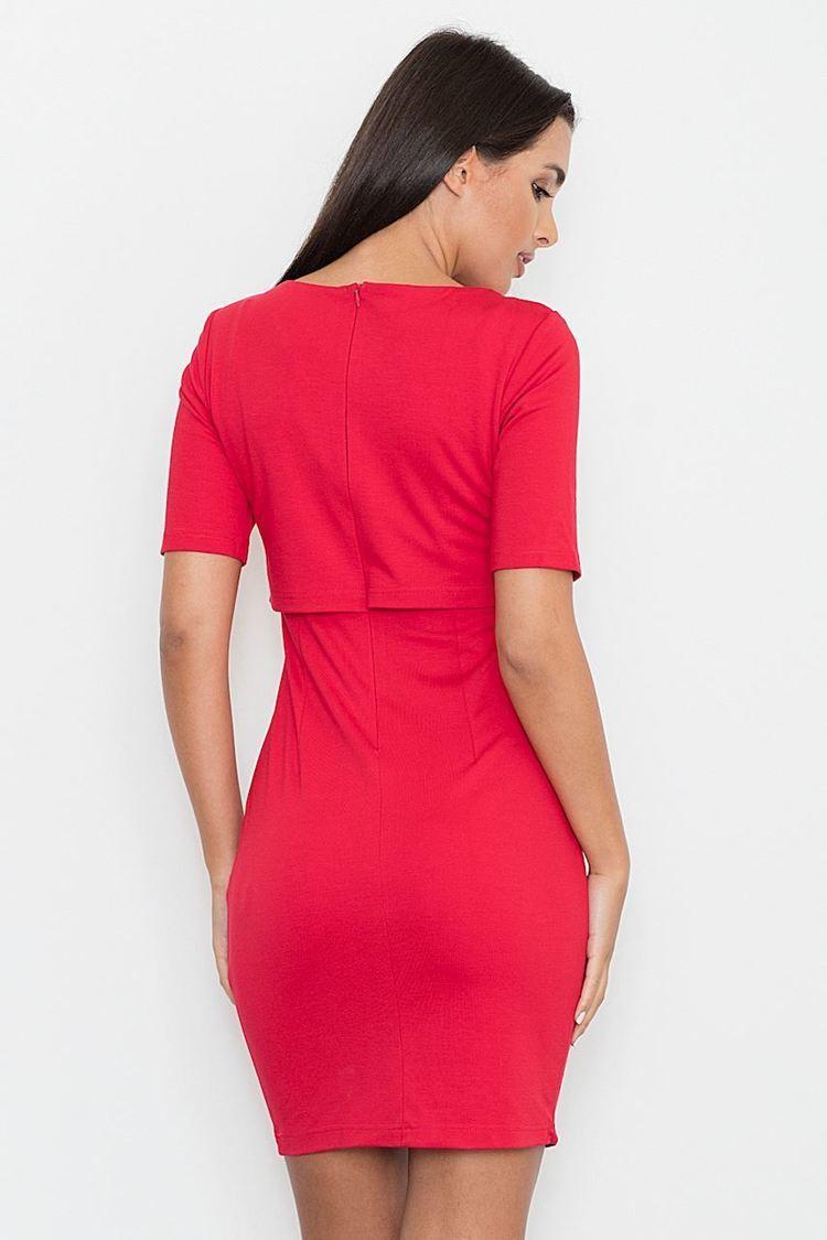 Sukienka Model M446 Red - Figl