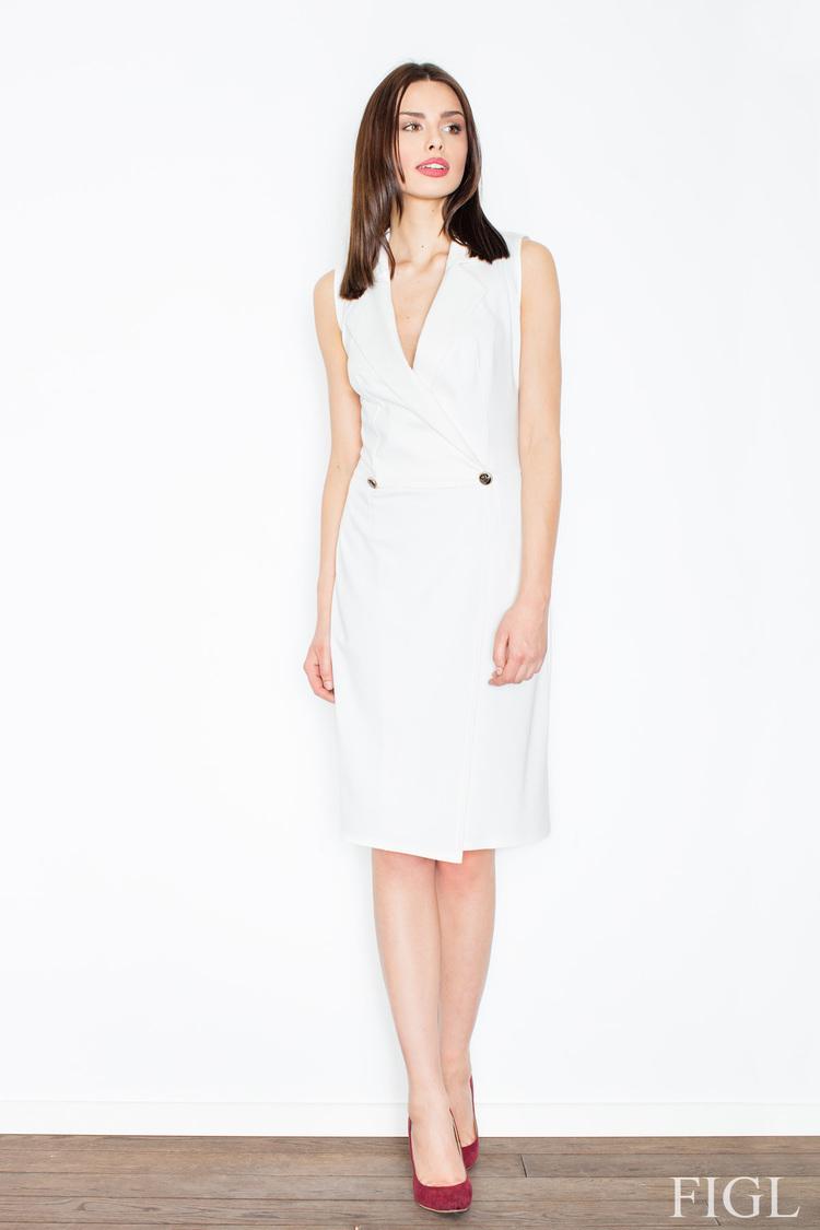 Sukienka MOdel M443 Ecru - Figl