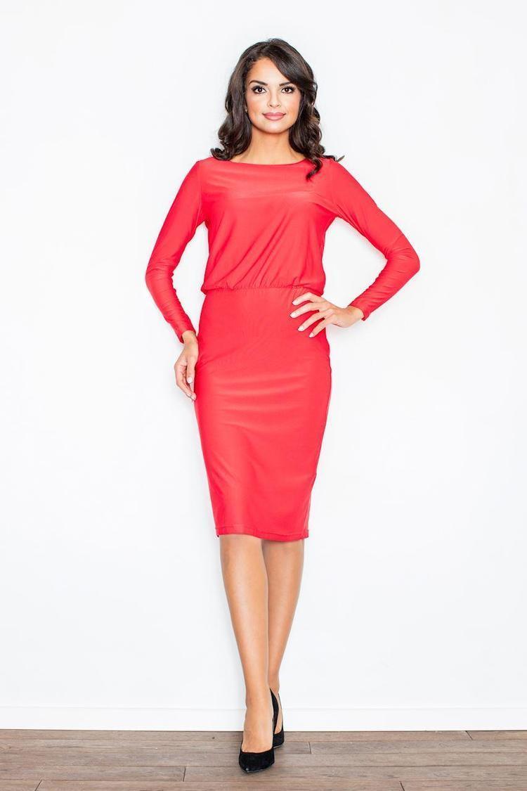 Sukienka Model 326 Red - Figl