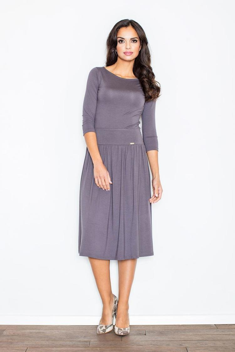 Sukienka Komplet Model 322 Grey - Figl