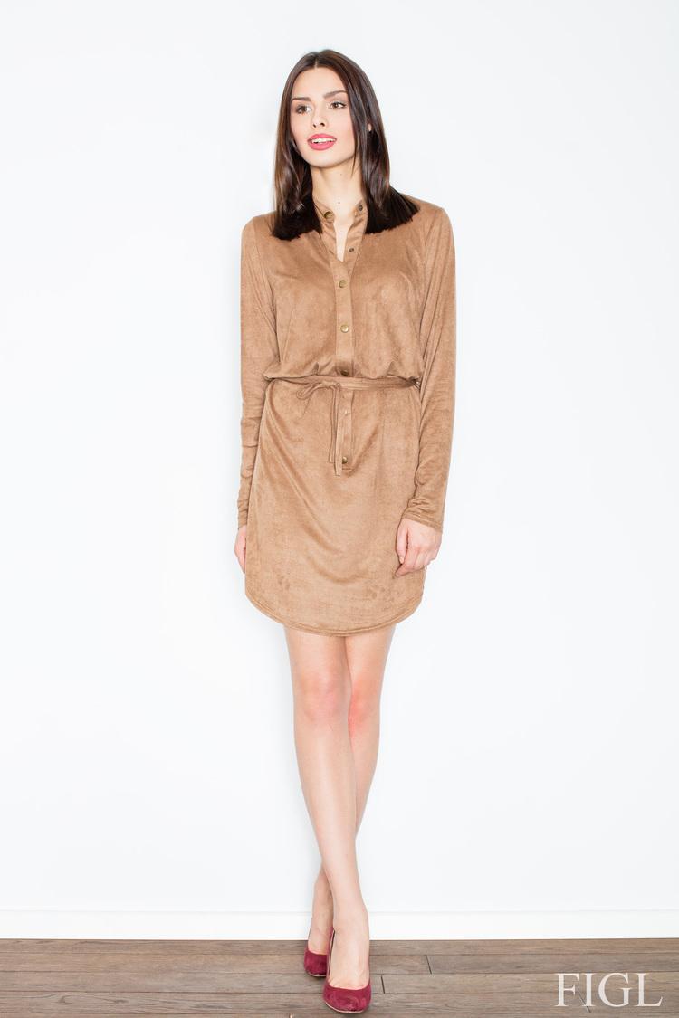 Sukienka Model M454 Brown - Figl