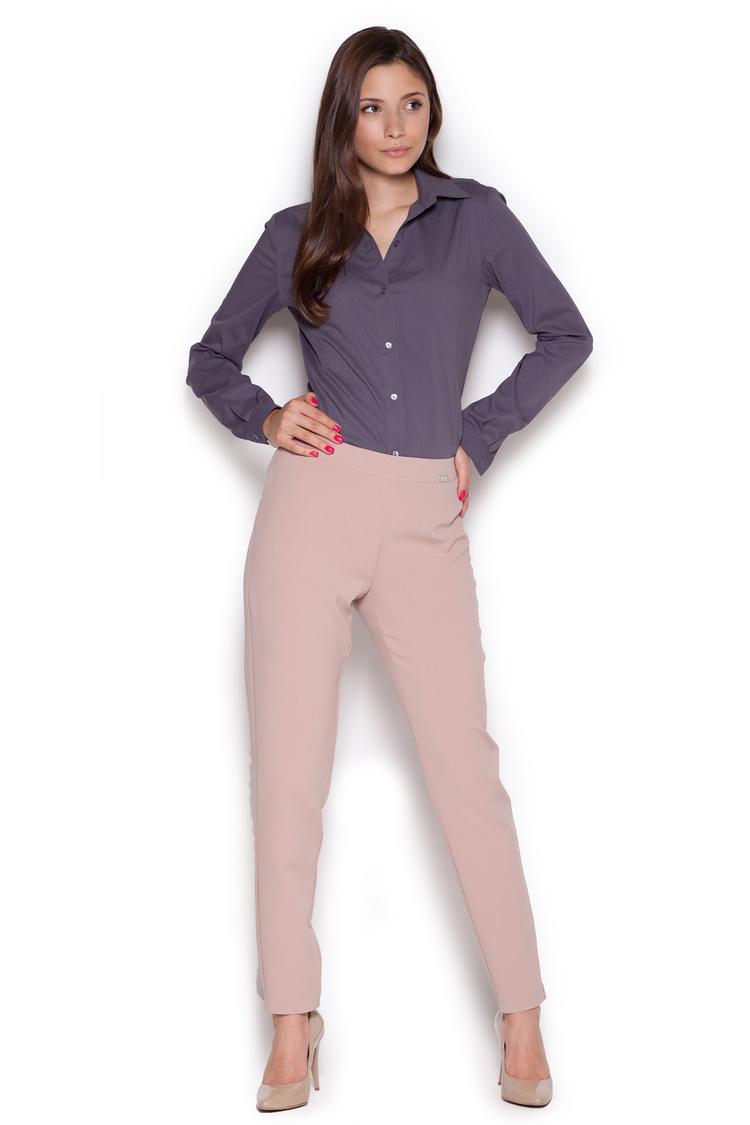 Spodnie Damskie Model 328 Pink - Figl