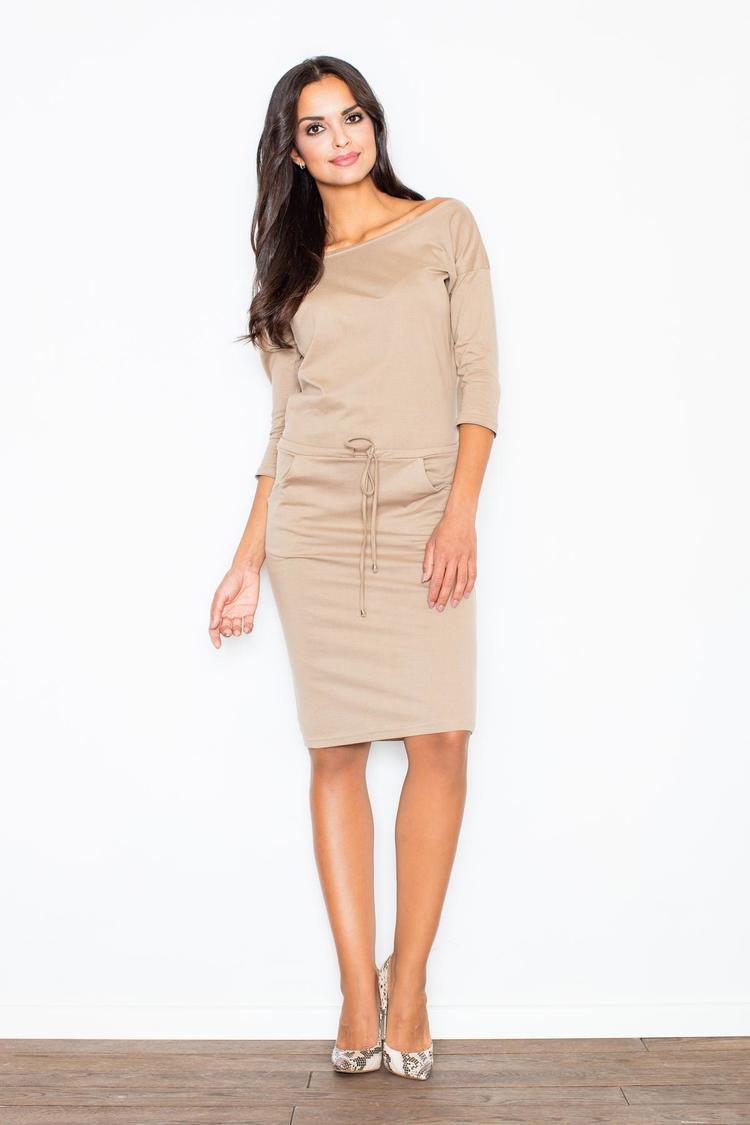 Sukienka Model 203 Beige - Figl