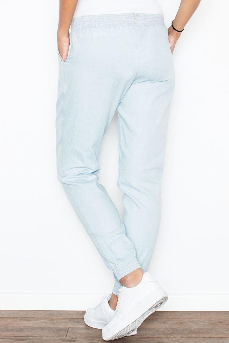 Spodnie Damskie Model 307 Sky Blue - Figl