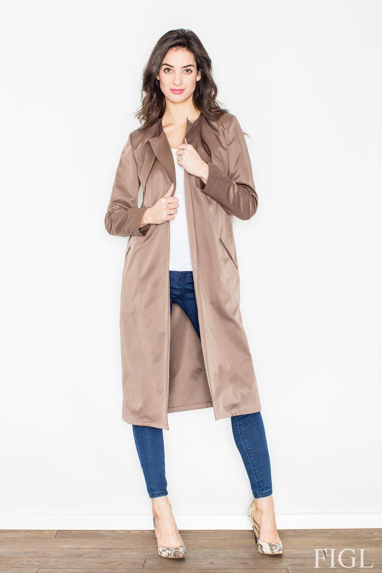 Płaszcz M427 Beige - Figl