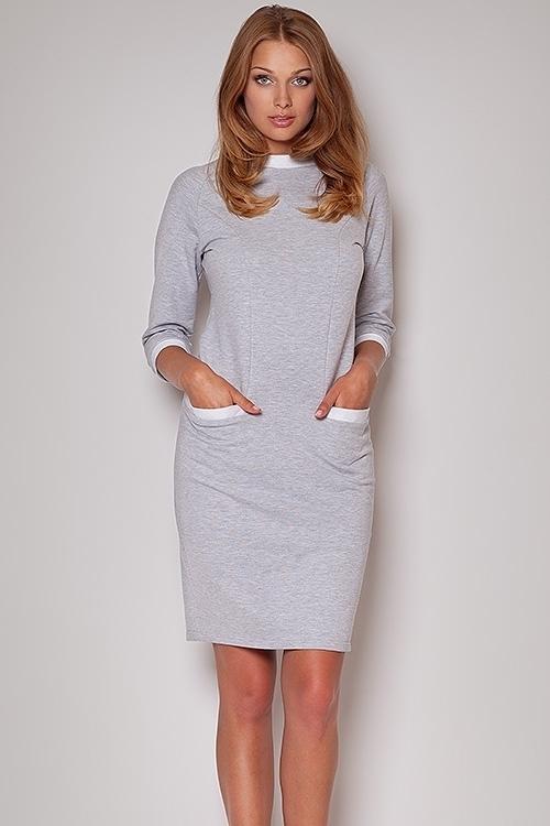 Sukienka Model 205 Grey - Figl