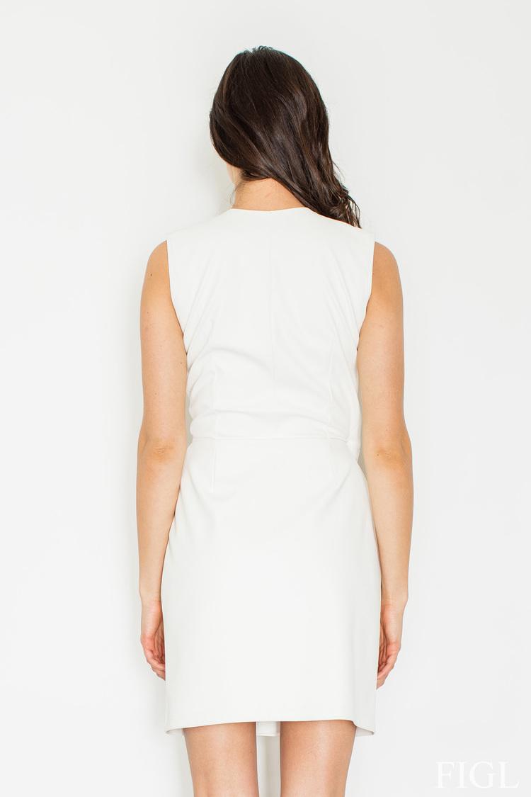 Sukienka M430 Ecru - Figl