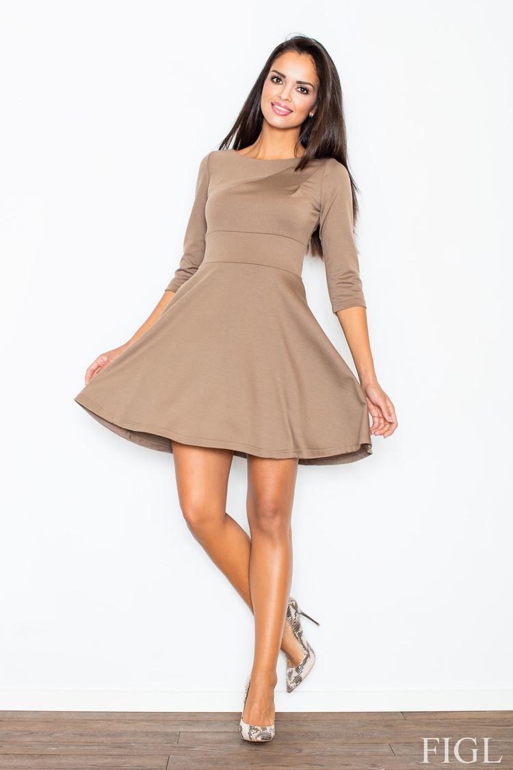Sukienka Model M081 Brown - Figl