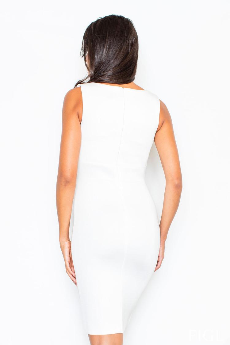 Sukienka Model 353 Ecru - Figl