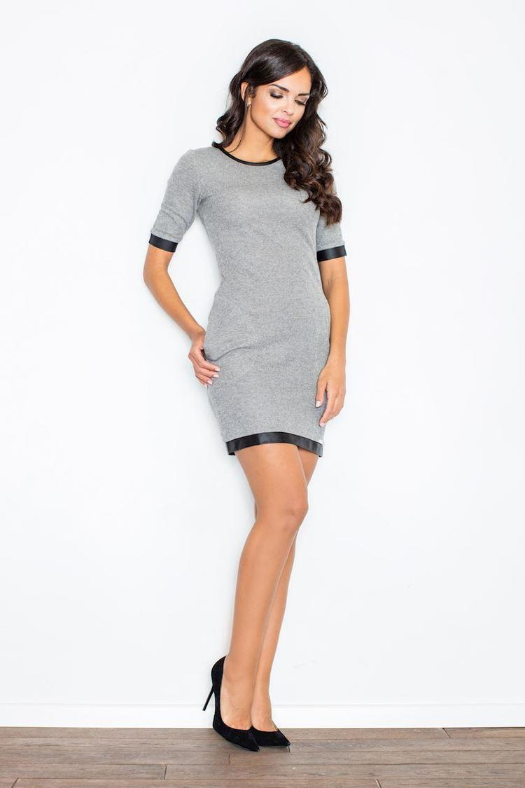 Sukienka Model 348 Dark Grey - Figl