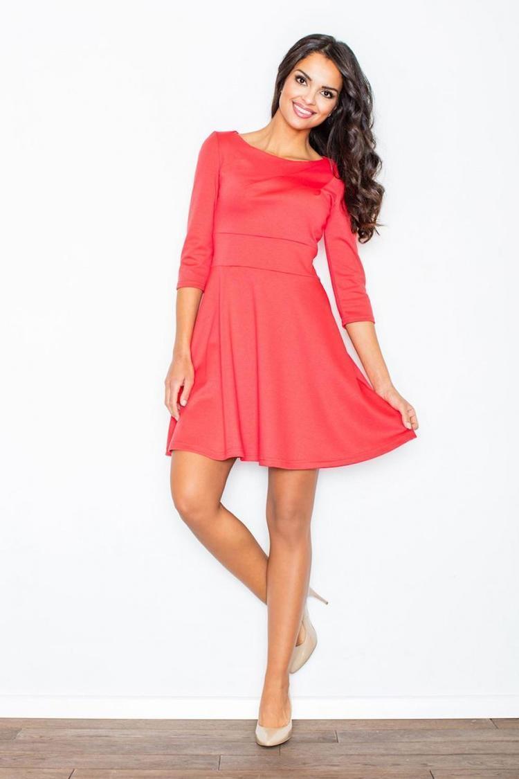 Sukienka Model M081 Koral - Figl