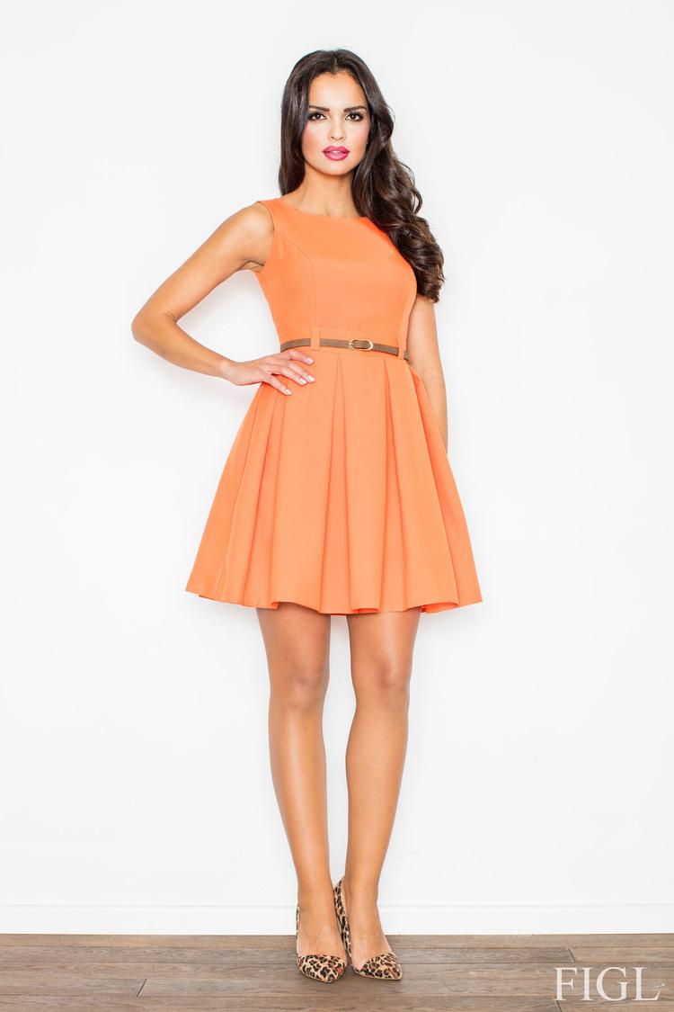 Sukienka M083 Orange - Figl