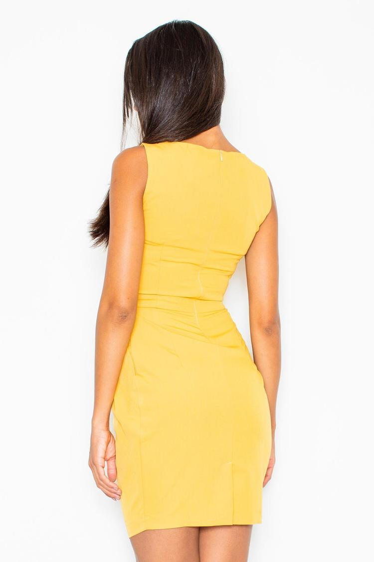 Sukienka Model 243 Yellow - Figl