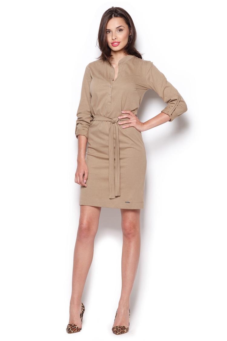 Sukienka Model 287 Beige - Figl