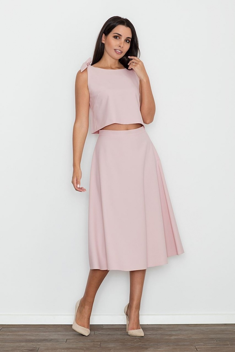Spódnica Komplet Model M578 Pink - Figl