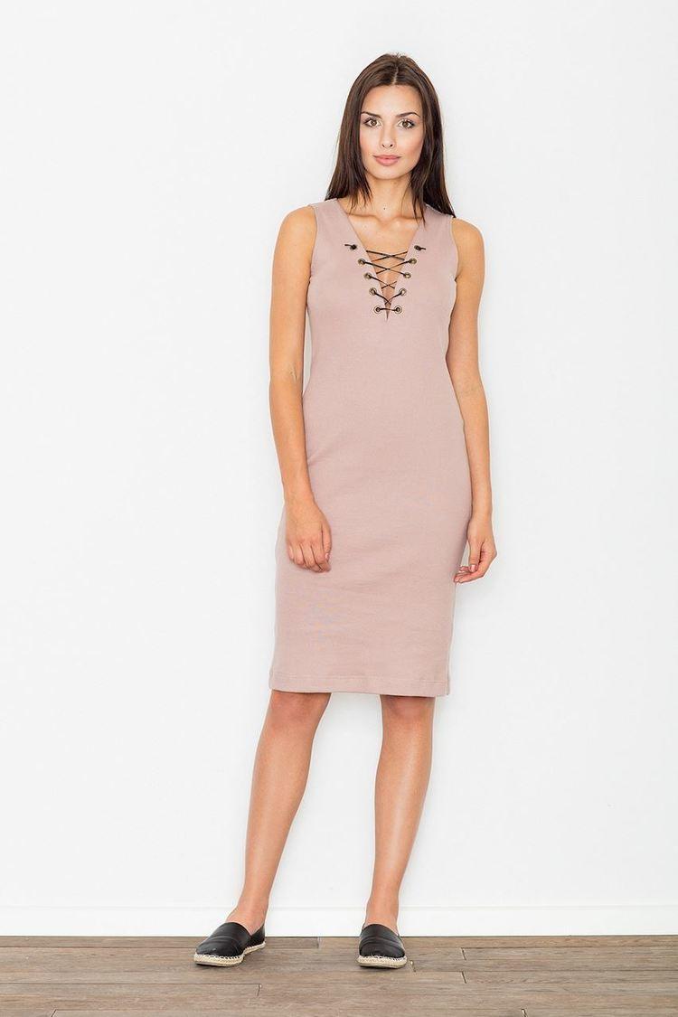 Sukienka Model M487 Pink - Figl