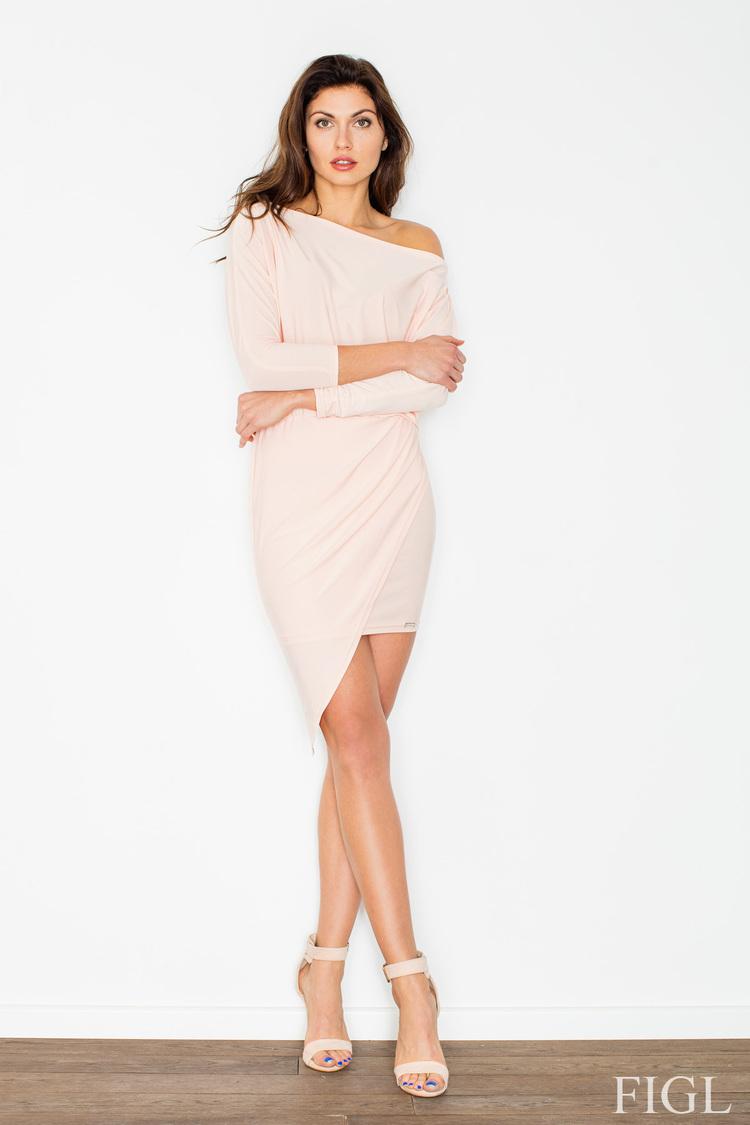 Sukienka Model M475 Light Pink - Figl