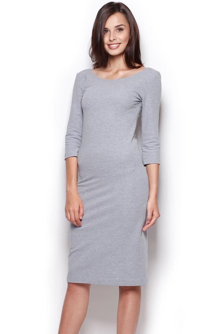 Sukienka Model 301 Grey - Figl