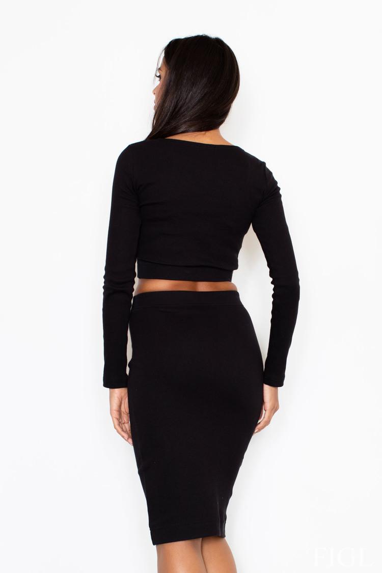 Sukienka Komplet M369 Black - Figl