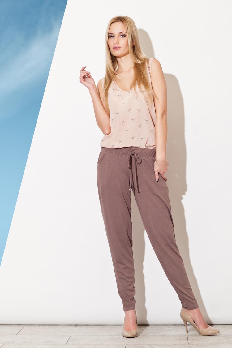 Spodnie Damskie Model 280 Brown - Figl