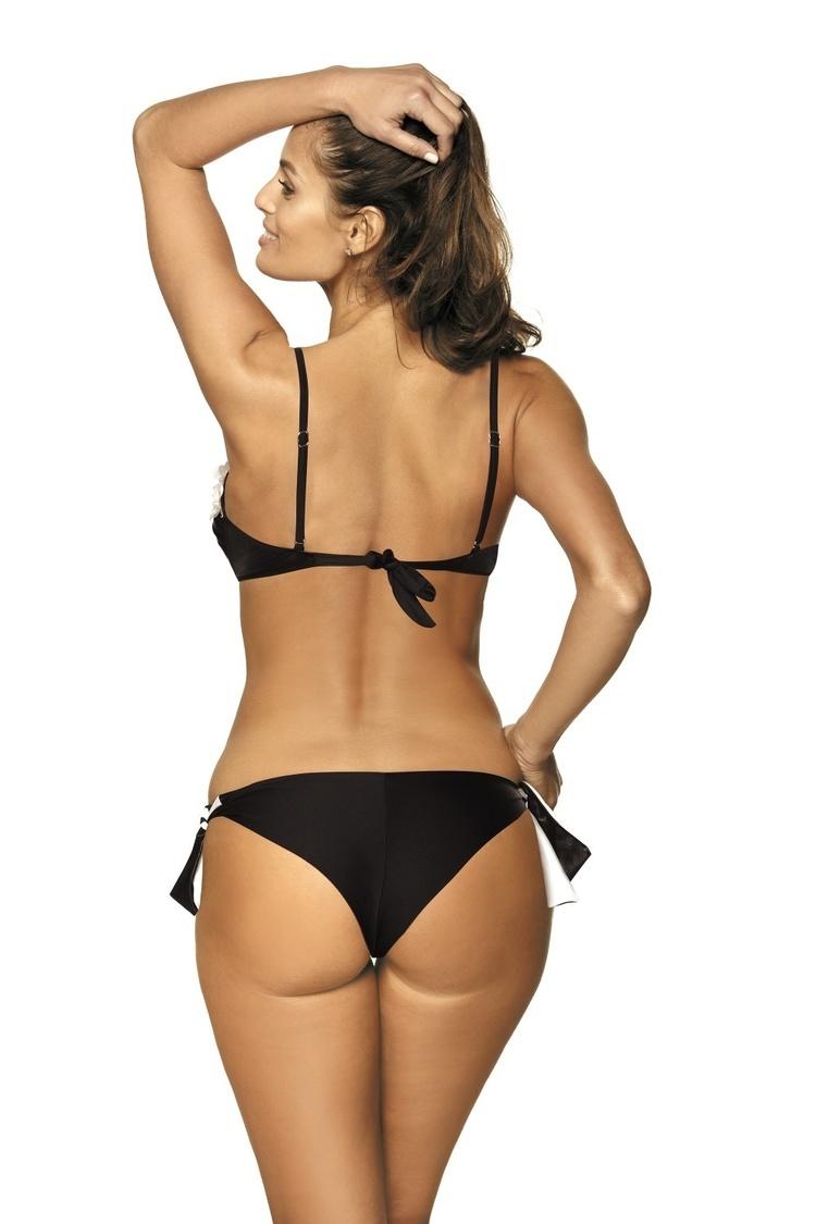 Jednoczęściowy strój kąpielowy Kostium kąpielowy Model Lucy Nero M-464 Black - Marko