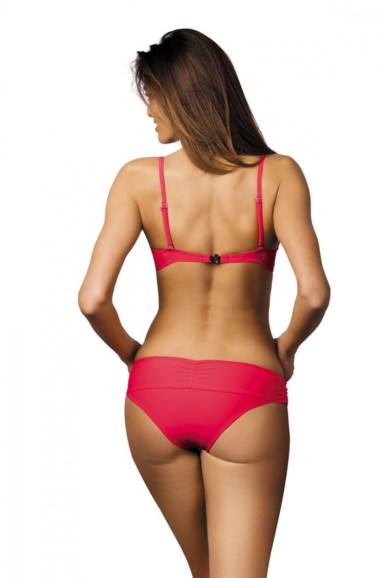 Kostium dwuczęściowy Kostium Kąpielowy Model Amanda Psycho Red M-386 Red - Marko