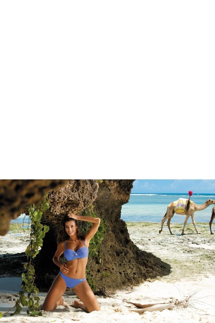 Kostium dwuczęściowy Kostium Kąpielowy Model Brittany Zaffiro M-393 Chaber - Marko