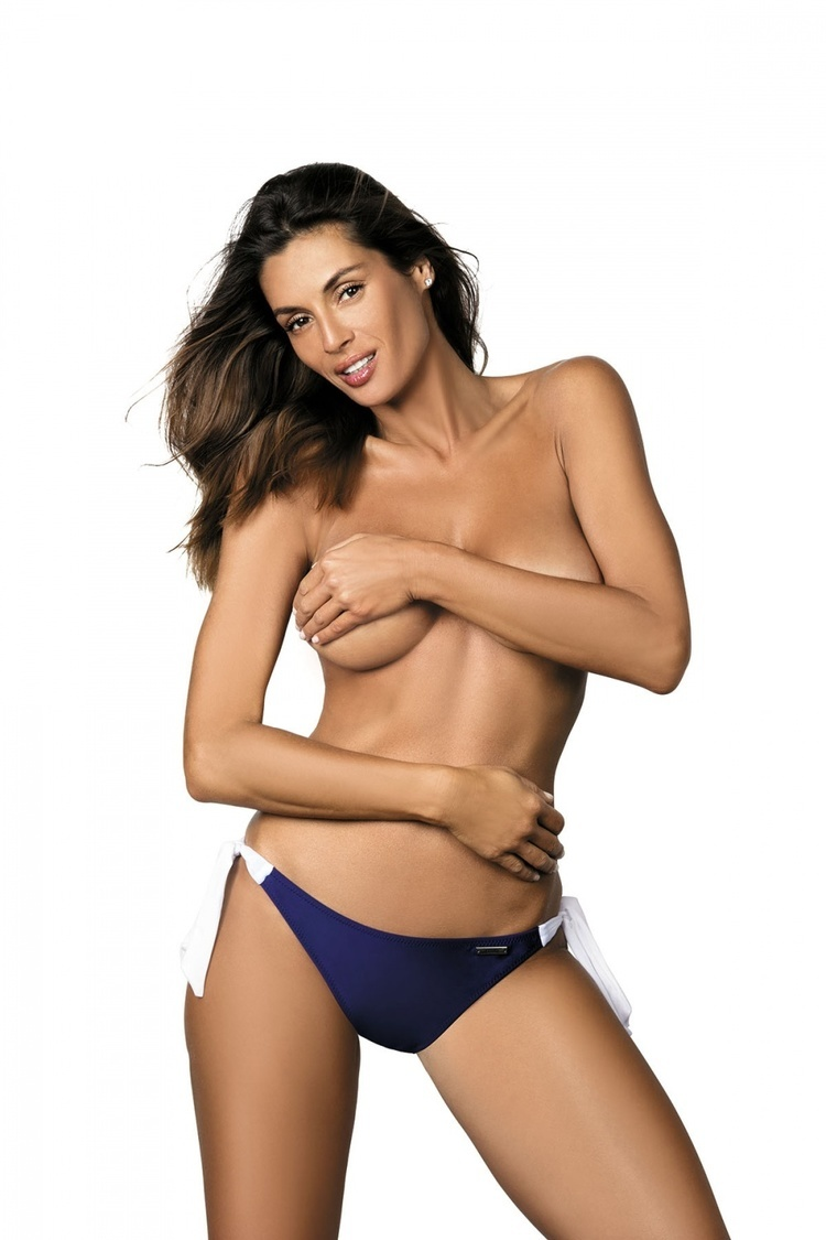 Kostium dwuczęściowy Figi Kąpielowe Model Gigi M-03 Mirillo Blue - Marko
