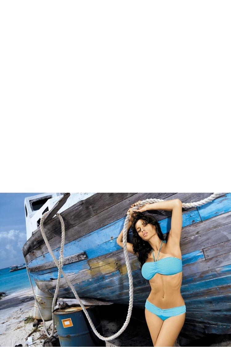 Kostium dwuczęściowy Kostium Kąpielowy Model Shakira PT M-131 Sky Blue - Marko