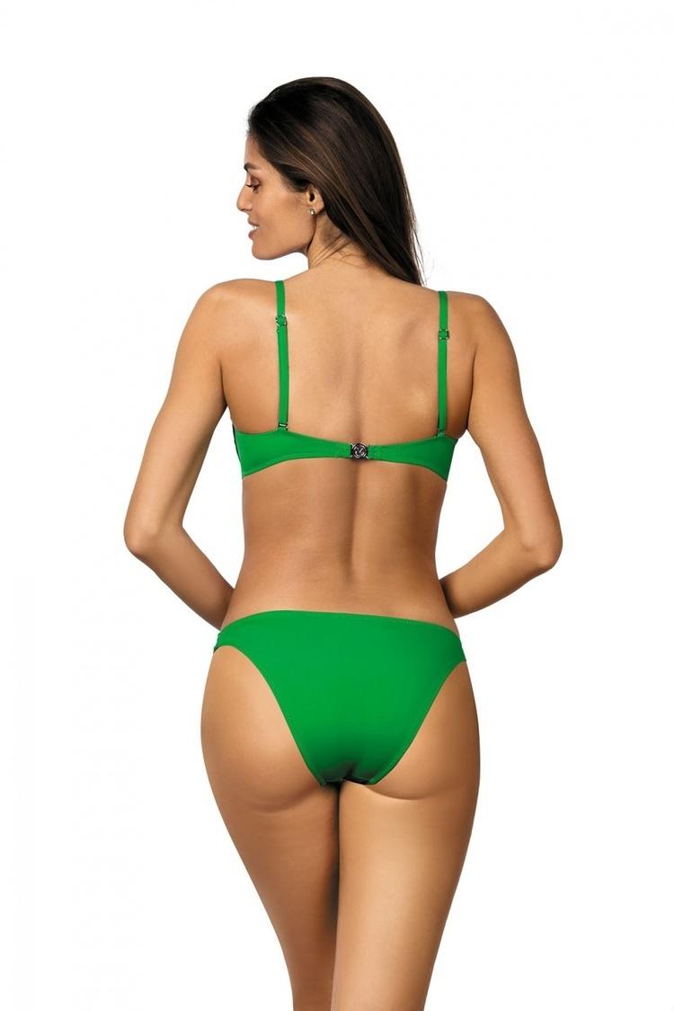 Kostium dwuczęściowy Kostium Kąpielowy Model Brittany Palm Green M-393 Green - Marko