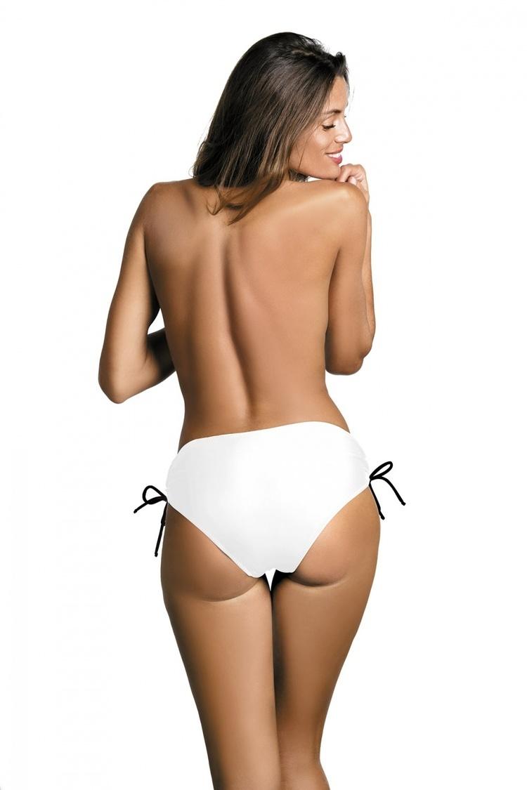 Kostium dwuczęściowy Figi Kąpielowe Model Cindy M-04 Bianco White - Marko