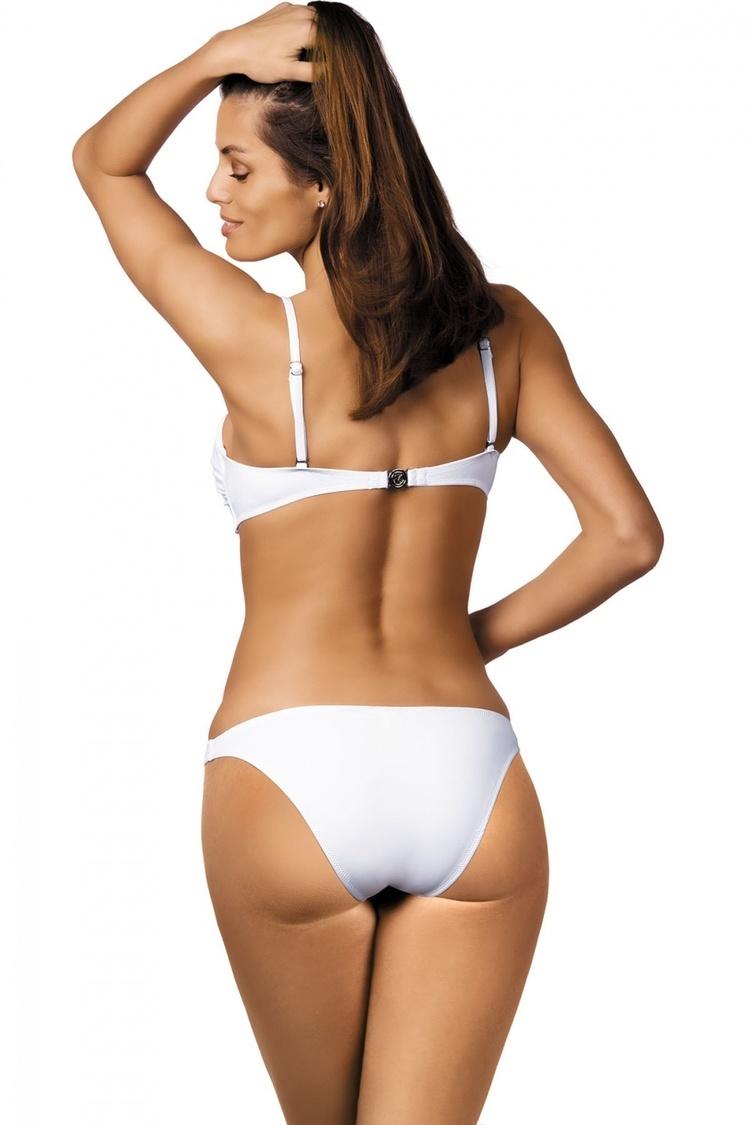 Kostium dwuczęściowy Kostium Kąpielowy Model Brittany Bianco M-393 White - Marko