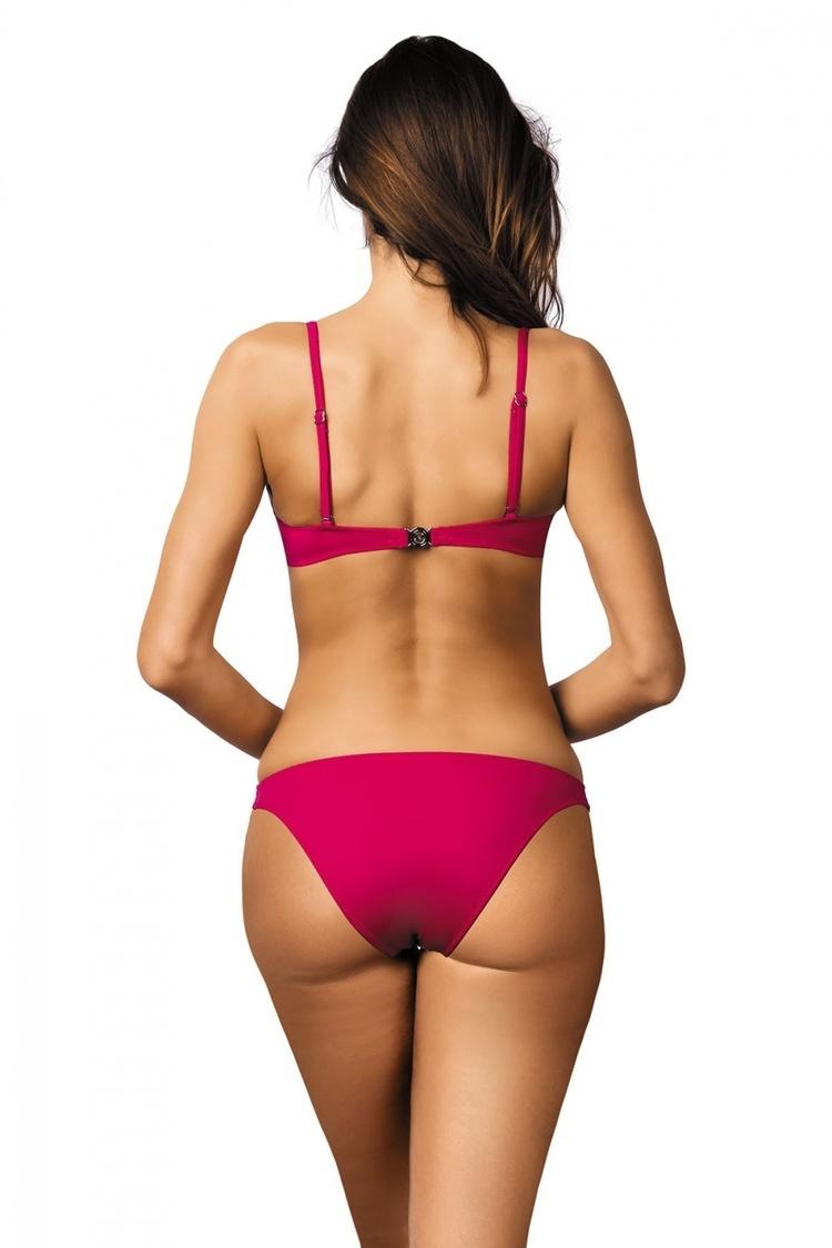 Kostium dwuczęściowy Kostium Kąpielowy Model Brittany Azalea Pink M-393 Fuksja - Marko