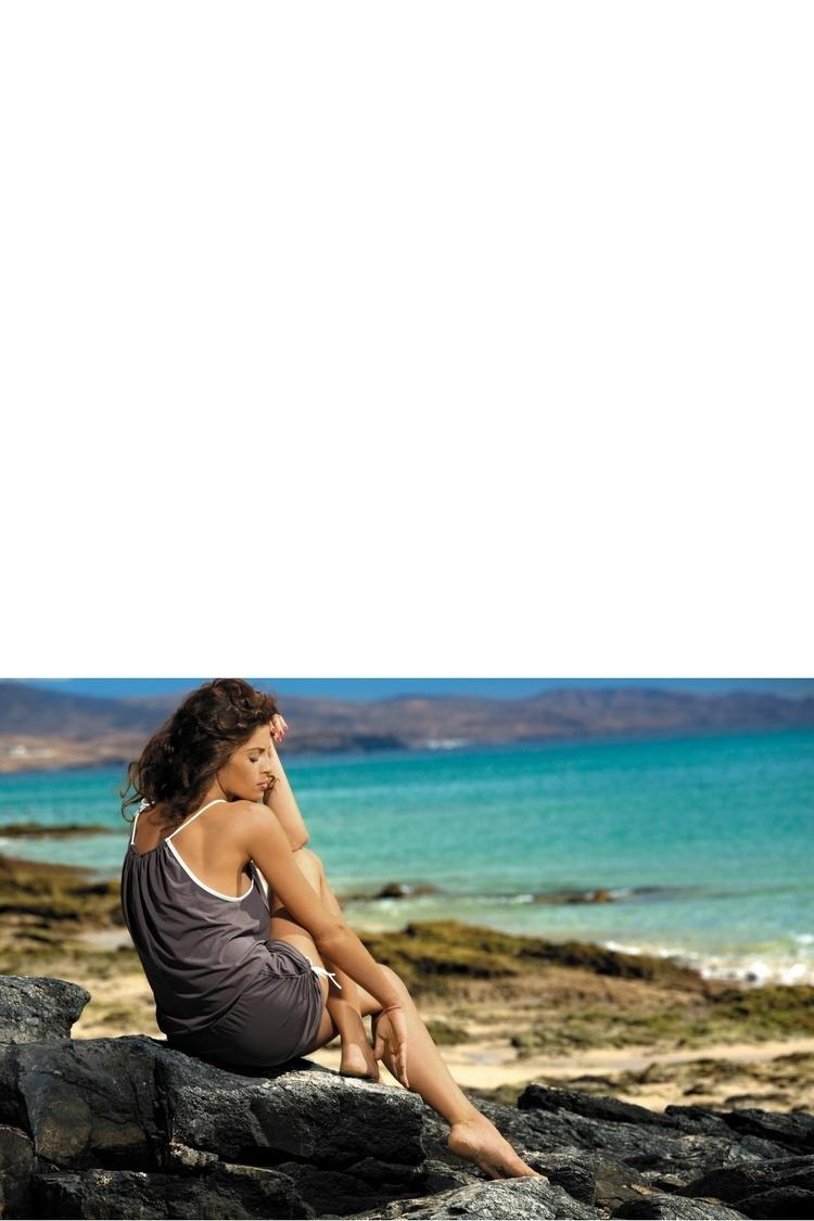 Sukienka Plażow Kombinezon Model Leila Piedra M-312 Mocca  - Marko