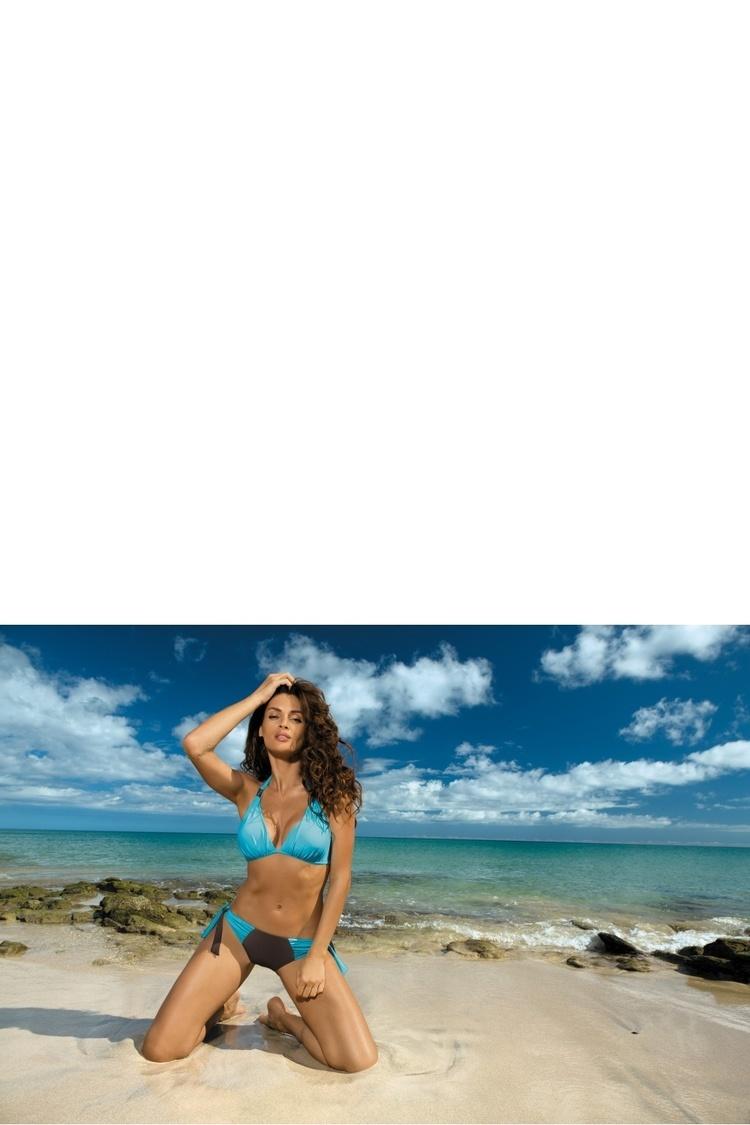 Kostium dwuczęściowy Kostium Kąpielowy Model Roxie Seppia-Martinica M-326 Blue/Brown - Marko