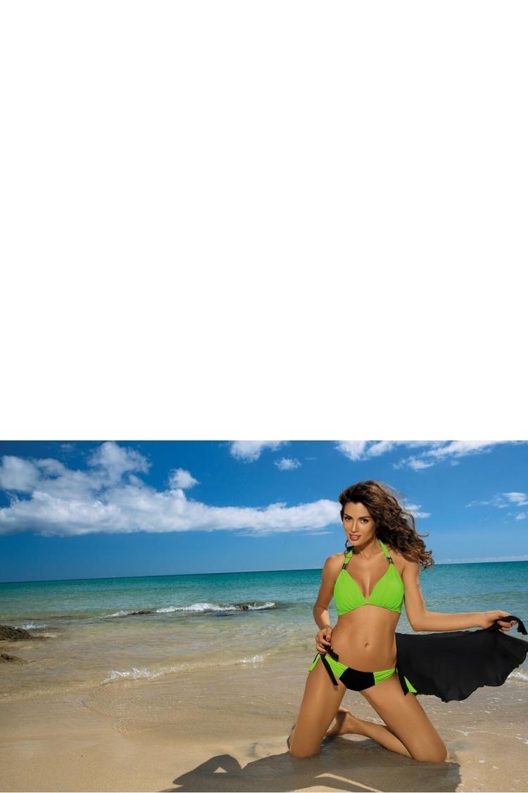 Kostium dwuczęściowy Kostium Kąpielowy Model Roxie Nero-Smile M-326 Green/Black - Marko