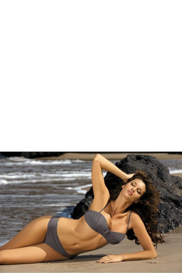 Kostium dwuczęściowy Kostium Kąpielowy Model Larisa Wall M-204 Grey - Marko