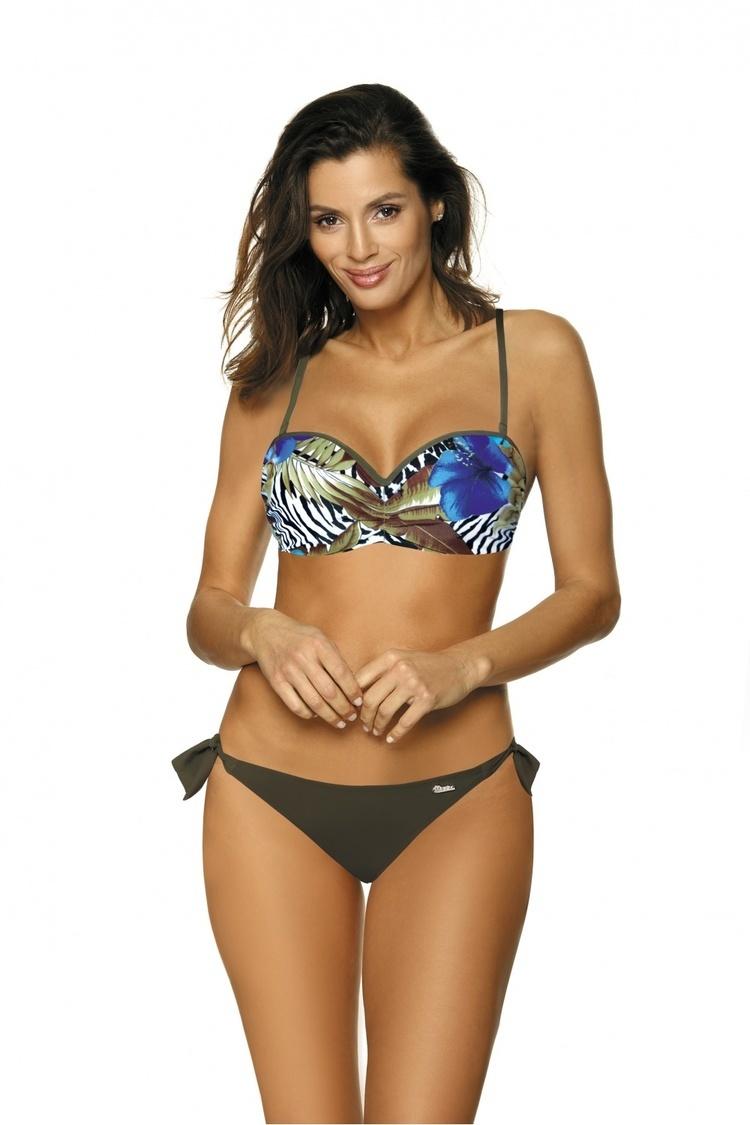 Kostium dwuczęściowy Kostium Kąpielowy Model Becky Kaki M-482 Khaki - Marko