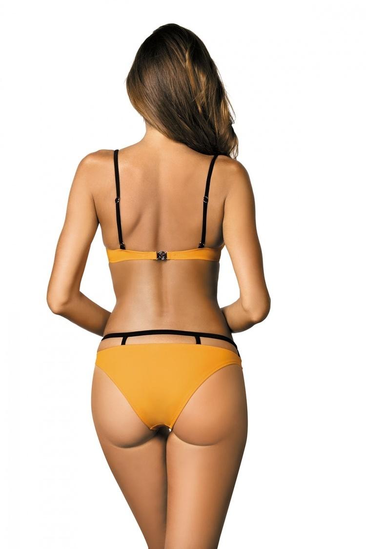 Kostium dwuczęściowy Kostium Kąpielowy Model Nathalie Soleil M-391 Yellow - Marko