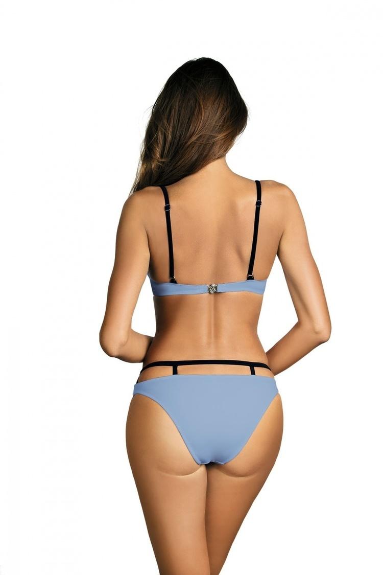 Kostium dwuczęściowy Kostium Kąpielowy Model Nathalie Sky Blue M-391 Lodowy Błękit - Marko