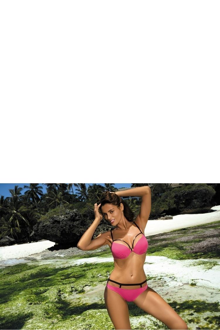 Kostium dwuczęściowy Kostium Kąpielowy Model Nathalie Papaya M-391 Pink - Marko